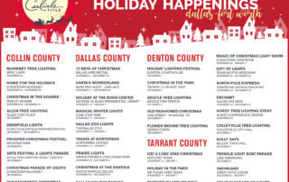 Holiday Happenings in Dallas - Fort Worth (DFW)