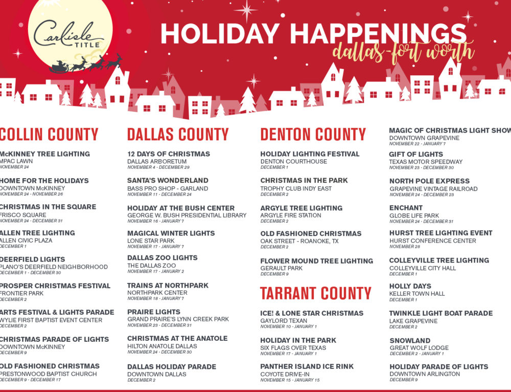 Holiday Happenings in Dallas – Fort Worth