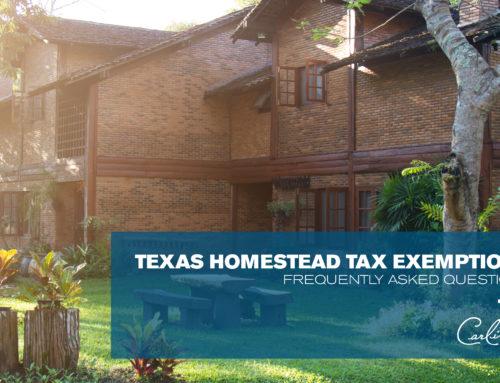 Texas Homestead Tax Exemption FAQs