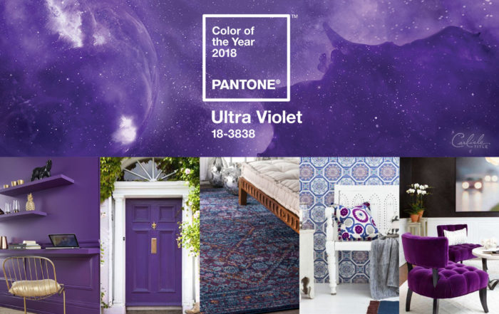 Design Spotlight - 2018 Pantone Color of the Year - Ultra Violet