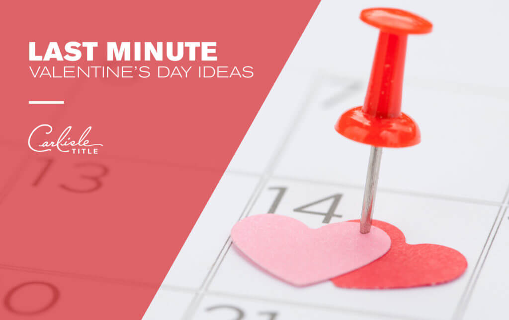 Last Minute Valentine's Plans for DFW